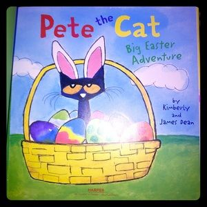 Other - Pete The Cat Book - Big Easter Adventure
